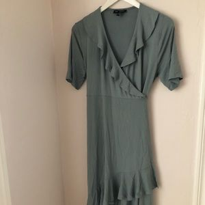 Isabella Oliver turquoise maternity dress